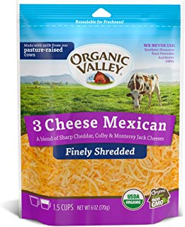 shredded mexican cheese