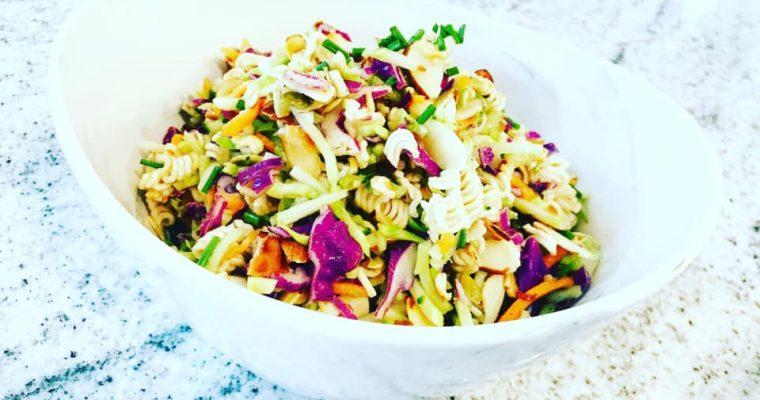 Easy To Make Healthy Ramen Noodle Salad