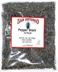 black mesh pepper