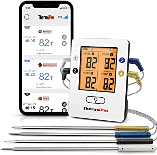 Wireless Bluetooth probe thermometer