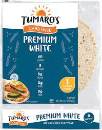 Tumaro's Tortilla wraps
