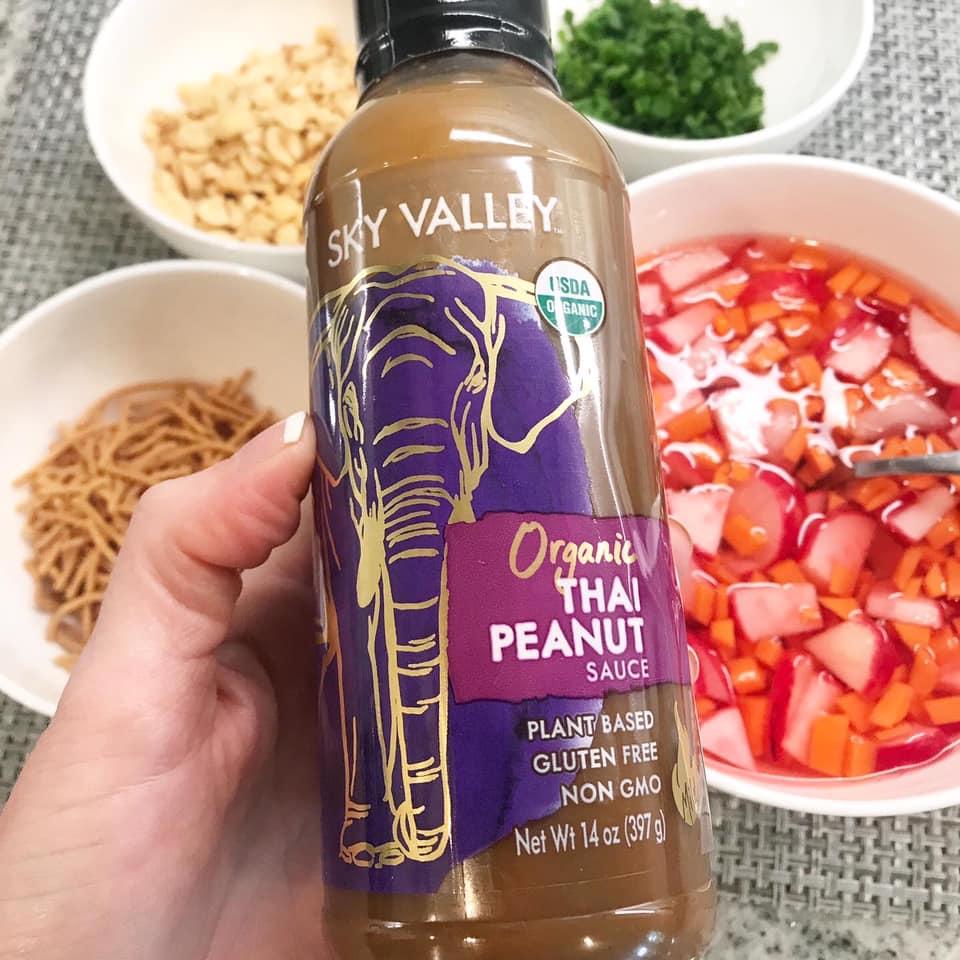 Organic Thai Peanut Sauce