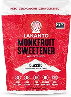 monkfruit sugar replacement