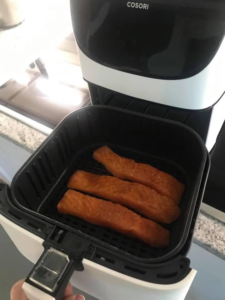 Cosori Air Fryer Salmon