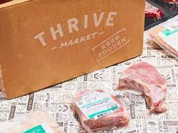 Thrive Market Ad display of delivery box