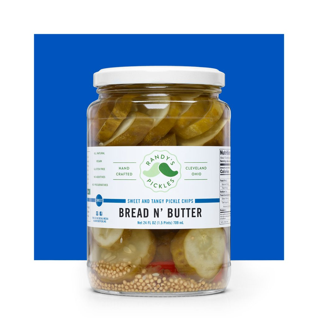 Randy's Pickles bread and butter pickles